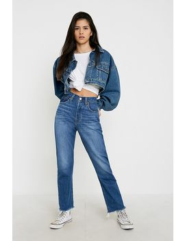 Levi's 501 Indigo Skinny Jeans by Levi's