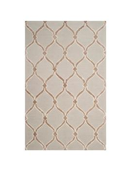 Manchester Taupe/Ivory 5 Ft. X 8 Ft. Area Rug by Home Depot