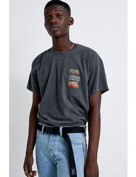 Uo Black Metal Seatbelt Belt by Urban Outfitters