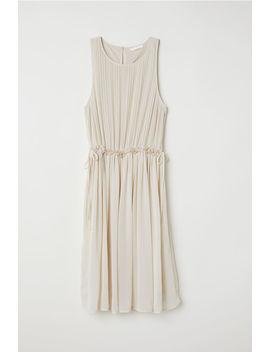 Plisované šifónové šaty by H&M