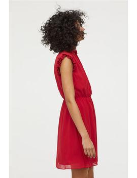 Šaty SPristrihnutými Rukávmi by H&M