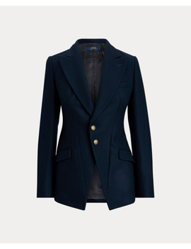 Wool Blend Riding Blazer by Ralph Lauren