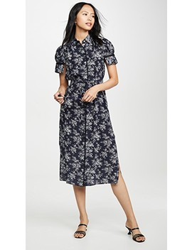 V Neck Shirtdress by Jason Wu