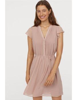 Šaty So Zaväzovacím Opaskom by H&M