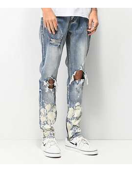 Crysp Pacific Vintage Stone Skinny Jeans by Crysp Denim