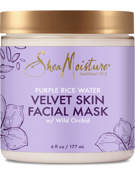 Purple Rice Water Velvet Skin Facial Mask by Shea Moisture