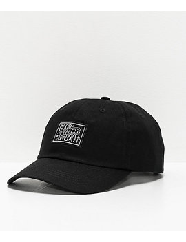 Whadafunk Good Times Forever Black Strapback Hat by Whadafunk