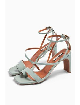 Rio Leather Toe Loop Sandals by Topshop