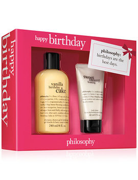 2 Pc. Happy Birthday Gift Set by General