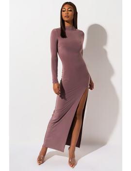 Pretty Thang Long Sleeve Maxi Dress by Akira