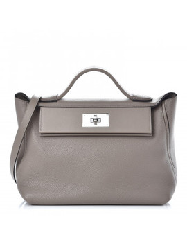 Hermes Togo Swift 24/24 29 Gris Asphalt by Hermes