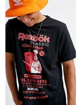 Reebok Kebab Black T Shirt by Reebok