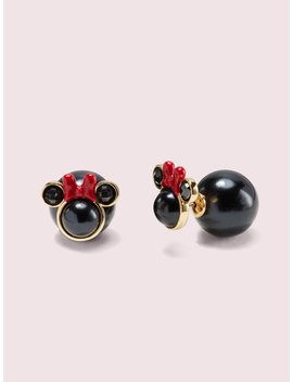 Kate Spade New York X Minnie Mouse Reversible Studs by Kate Spade