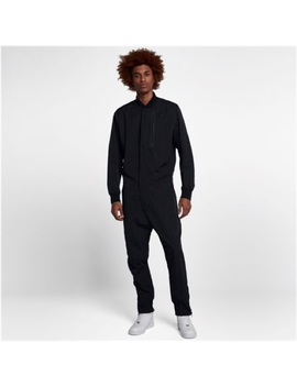 J1928 Nike Sportswear Tech Jumpsuit Mens Black   Nwt by Nike