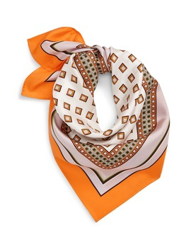 Painters Geo Silk Neckerchief by Tory Burch
