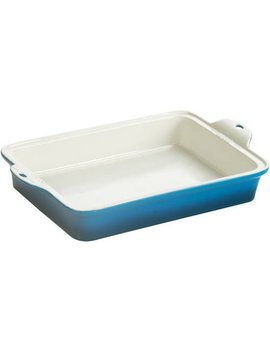 "Lodge 9"" X 13"" Blue Stoneware Baking Dish, Stw13 Rct33 by Lodge"