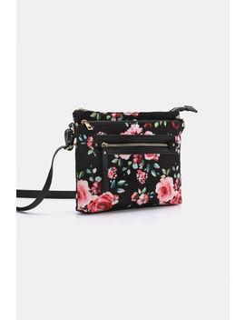 Floral Crossbody Bag by Ardene