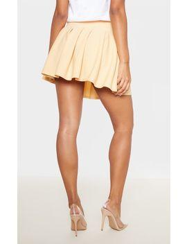 Fawn Pleated Side Split Tennis Skirt by Prettylittlething