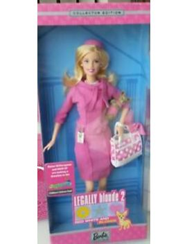 Elle Woods From Legally Blonde 2: Red, White & Blonde 2003 Barbie Doll. Nrfb by Mattel