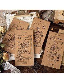 30 P Vintage Kraft Paper Memo Pad Retro Office Decoration To Do List Planner Creative Diy Bullet Journal Stationery Supplies by Ali Express.Com