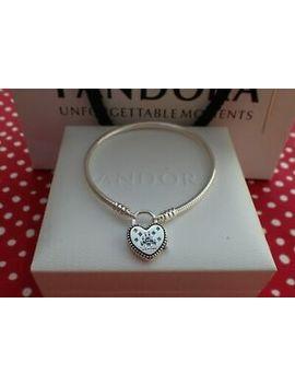 """Authentic Pandora Bracelet, Disney Parks Castle Locket,Heart Shaped 20cm=7.9"""" by Pandora"""