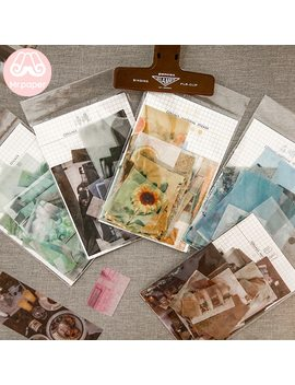 Mr.Paper 8 Designs 70 Pcs/Lot Ins Style Artsy Photos Deco Stickers Scrapbooking Bullet Journal Popular Deco Stationery Stickers by Ali Express.Com