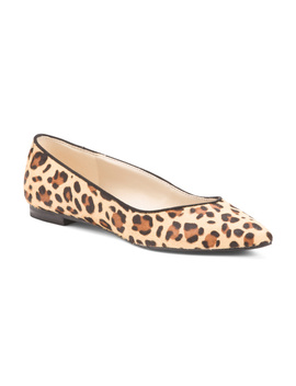 Leopard Haircalf Flats by Tj Maxx