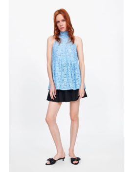 Lace Top Collectionwoman Sale by Zara
