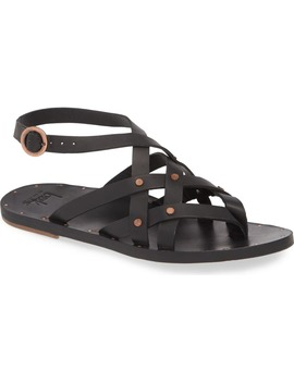 Merlin Strappy Studded Thong Sandal by Beek