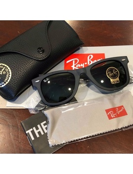 New Authentic Ray Ban Rb2140 Wayfarer 901 S   Nwt by Ray Ban