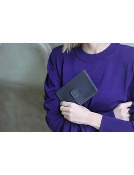 Loewe Wallet / Grey Leather Wallet / Designer Wallet / Grey Leather Purse / Loewe Bag Vintage / Womens Leather Wallet / 90s Leather Billfold by Etsy