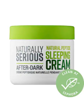 After Dark Natural Peptide Sleeping Cream by Naturally Serious