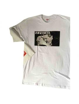 White Cotton T Shirt by Supreme