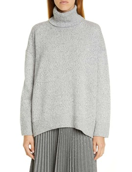 Sequin Turtleneck Sweater by Lafayette 148 New York