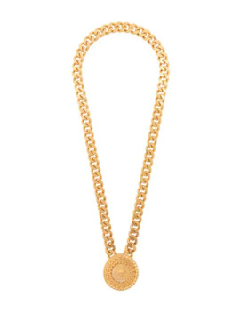 Medusa Medallion Chain Necklace by Versace