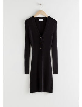 Ribbed Knit Long Cardigan by & Other Stories