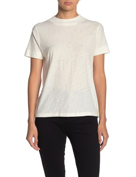 Selma Mock Neck T Shirt by Nation Ltd