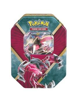 Pokemon Trading Card Game Shiny Kalos Tin Featuring Shiny Yveltal Ex by Ex