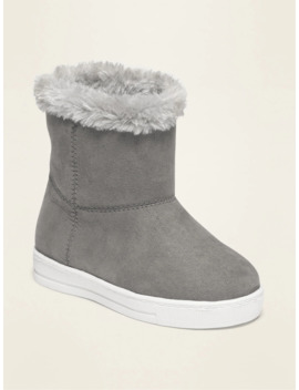 Faux Suede Sneaker Adoraboots For Toddler Girls by Old Navy