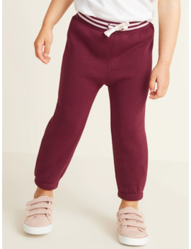 Functional Drawstring Joggers For Toddler Girls by Old Navy