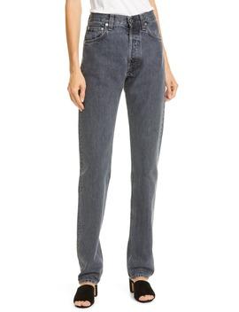 Masc Hi Straight Leg Jeans by Helmut Lang