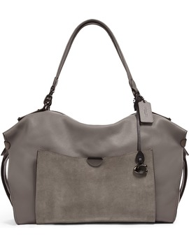 Darla 32 Mixed Leather Satchel by Coach