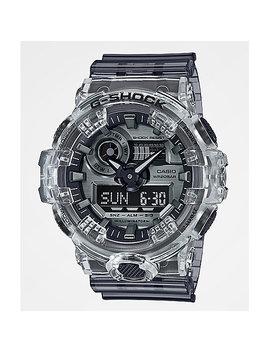 G Shock Ga700 Clear & Dark Grey Watch by Casio