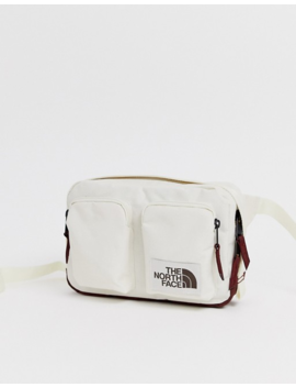 The North Face   Kanga   Sac Banane   Blanc by The North Face