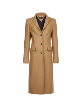 Belle Long Coat by Tommy Hilfiger