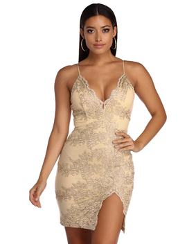 Lace Bodycon Dress by Windsor
