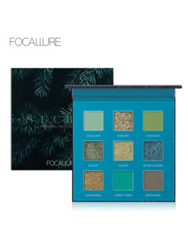 Focallure 2019 New Green Glitter Eyeshadow Palette High Quality Pigmented Powder Fashion Eye Shadow Matte Eyes Makeup Pallete by Ali Express.Com