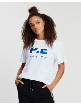 Trackbar Tee by P.E Nation