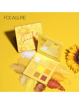 Focallure Smile Eyeshadow Palette Nude Matte Pigmented Shades Summer Makeup Glitter Shadow Palette Cosmetics by Ali Express.Com