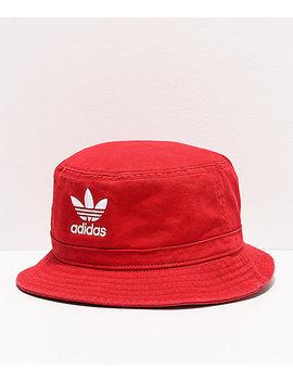 Adidas Scarlet Washed Bucket Hat by Adidas